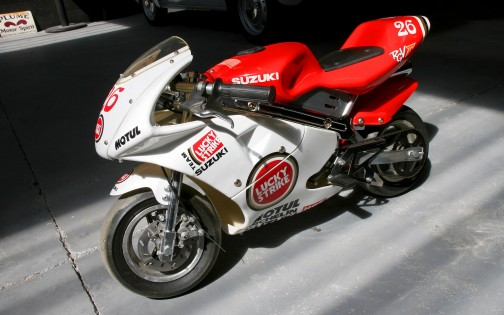 POCKET-BIKE SUZUKI LUCKY STRIKE