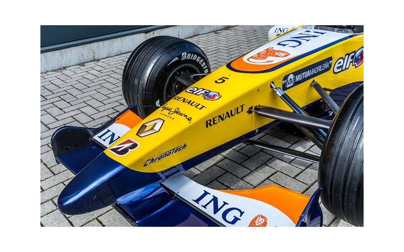 FORMULE 1 ING RENAULT 27 SAISON 2007 PILOTE FERNANDO ALONSO